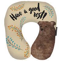 «Хороший отдых» - оригинальная дорожная подушка, отличный подарок для тех, кто планирует отпуск