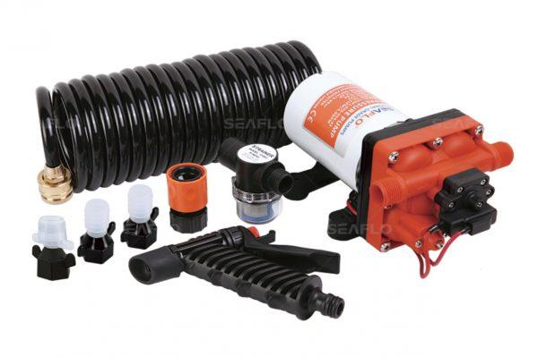 Помывочный комплект SEAFLO SFWP1-040-055-42A 15 л/мин 55PSI