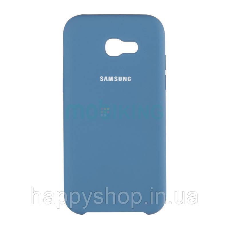 Оригінальний чохол Soft touch для Samsung Galaxy J7 2017 (J730) Blue
