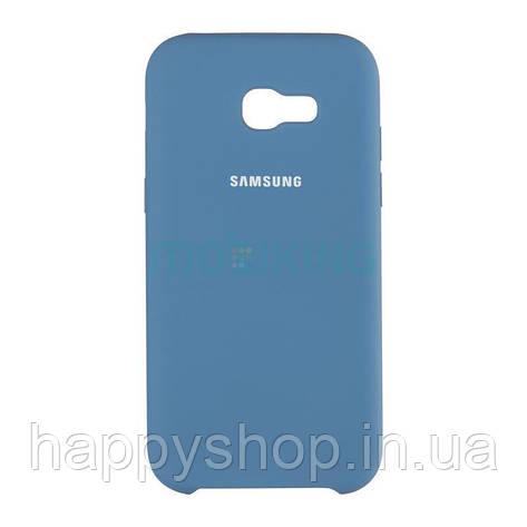 Оригінальний чохол Soft touch для Samsung Galaxy J7 2017 (J730) Blue, фото 2