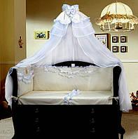 Красивая постель в детскую кроватку Ангелочек Greta