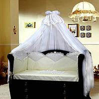Детское постельное белье для новорожденного с вышивкой Эдем Greta, фото 1