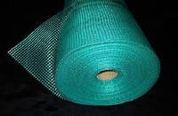 Сетка стеклотканевая зеленая армирующая фасадная штукатурная 145г\м2 - 5*5мм ( для наружных работ )