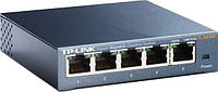 Неуправляемый коммутатор TP-LINK TL-SG105, 5 портов, фото 1