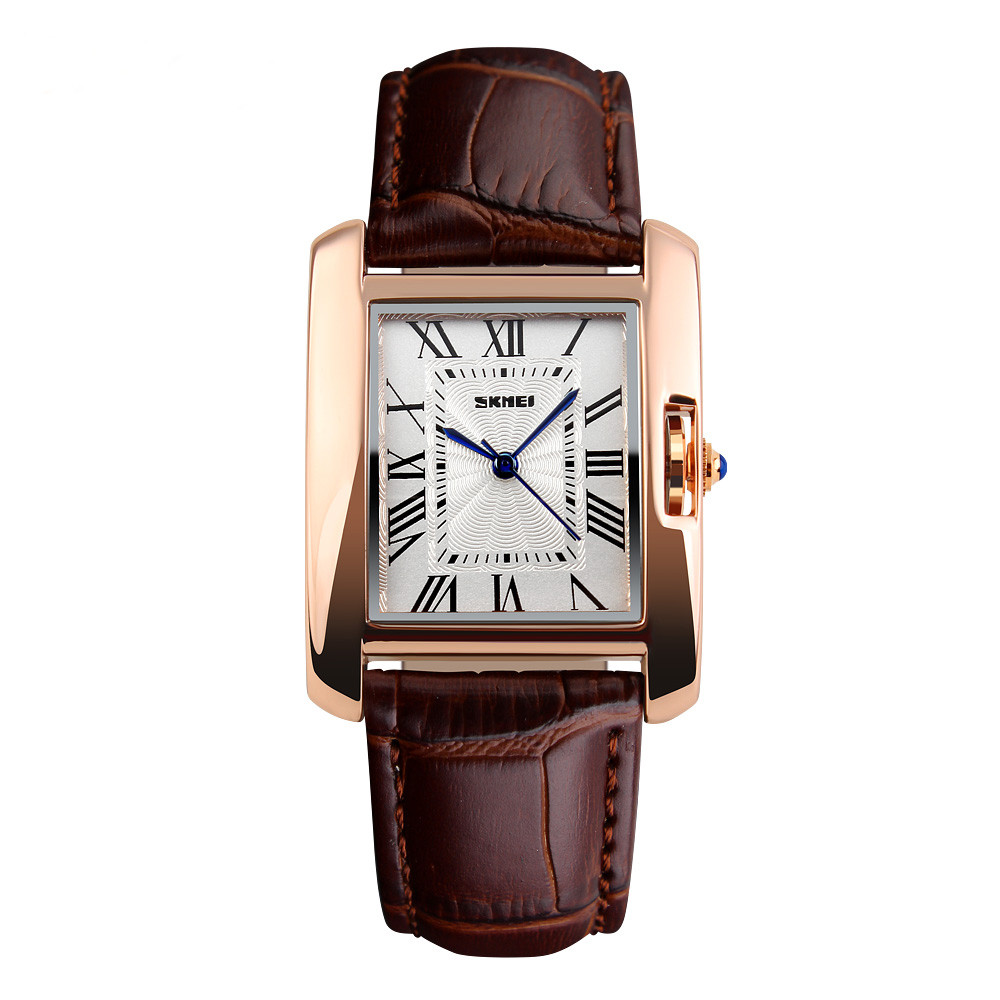 Skmei 1085 spring коричневые женские классические часы