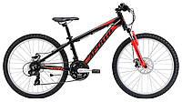 """Подростковый велосипед Apollo Panther 24"""" черно-красный"""