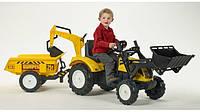 Великий дитячий трактор педальний., фото 1