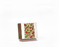 Шкатулка-книга на магните с 1 отделением Пташки Петриківки