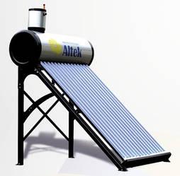 Колектор (водонагрівач) сонячний SD-T2-15 Altek 150л сезонний з баком безнапірна система