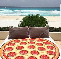 Пляжное покрывало Пицца 150 см