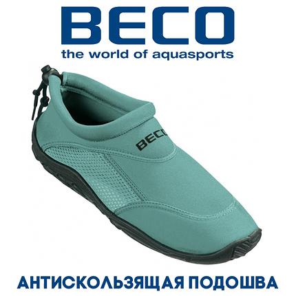 Аквашузы, обувь для серфинга и плавания BECO 9217 888, морская волна, фото 2