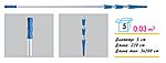 Рукоятка телескопическая алюминиевая 6,0 метров (3х2,0 м) TUS 282