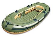 Туристическая надувная лодка Bestway VOYAGER 500, фото 3