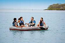 Туристическая надувная лодка Intex Mariner 68376, фото 3