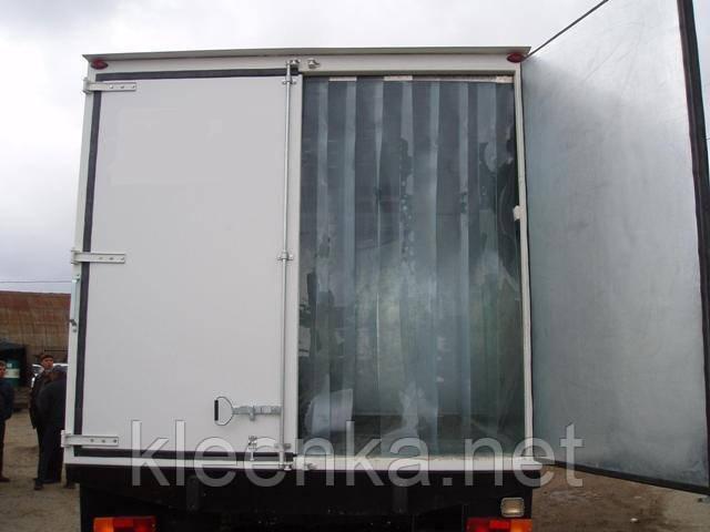 Прозрачный ПВХ для создания или замены ленточных термозавес, термоштор в холодильных камерах, складах