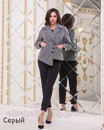 9b8b947a129 Женское Пальто укороченное шерсть 029  продажа