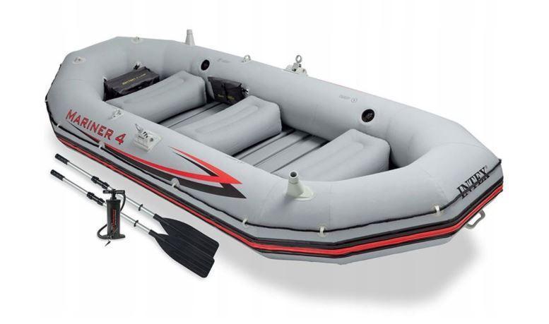 Туристическая надувная лодка Intex Mariner 68376