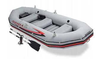 Туристическая надувная лодка Intex Mariner 68376, фото 2