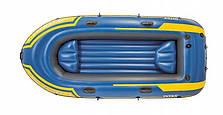 Туристическая надувная лодка Intex 68370 CHALLENGER 3 NEW 2018, фото 3