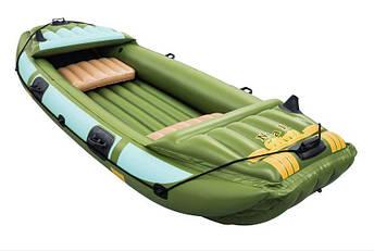 Туристическая надувная лодка Bestway NEVA III, фото 2