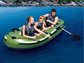 Туристическая надувная лодка Bestway VOYAGER 500, фото 2