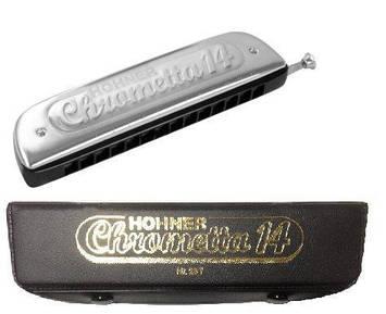 Губная гармошка HOHNER CHROMETTA 14 257/56 C, фото 2