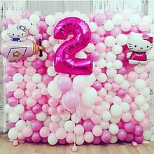 Фотозона на день народження для дівчат 2,25*2,25м
