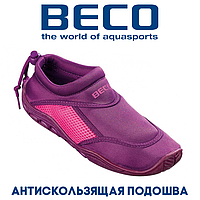 Аквашузы, коралки, обувь для дайвинга, серфинга и плавания BECO 9217 774, пурпурный/розовый
