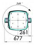 Неподвижная потолочная консоль - анестезиологическая головная, фото 3