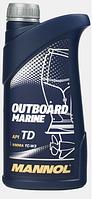 Двухтактное масло Mannol Outboard Marine TD 1L