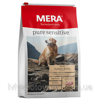 MERADOG High Premium Pure Senior Turkey & Rice 12,5 кг
