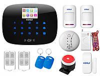 Комплект сигнализации Kerui G19 Pro для 1-комнатной квартиры, Гарантия 12 месяцев