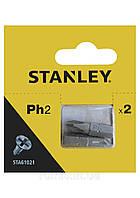 Насадка отверточная STANLEY крестовая PH2 х 25 мм 2 шт