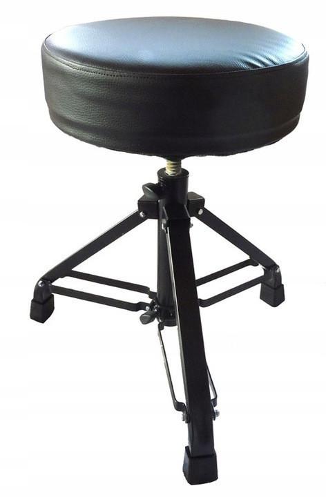 Стул барабанщика Akmuz T-10 регулируемый черный