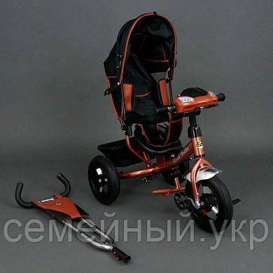 Велосипед трехколесный красный Best Trike 6588 В, фото 2