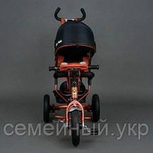 Велосипед трехколесный красный Best Trike 6588 В, фото 3