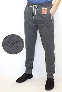 Спортивные штаны мужские серые NIKE манжет (копия)