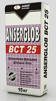 Шпаклевка универсальная финишная ANSERGLOB «ВСТ-25» (безпесчаная супербелая) (25 кг)