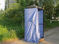 Дачный душ с раздевалкой, Летний душ с раздевалкой