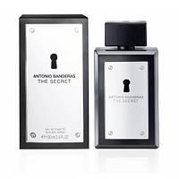 Туалетная вода ANTONIO BANDERAS для мужчин Antonio Banderas The Secret EDT (Антонио Бандерас Зе секрет) 100 мл (Копия)
