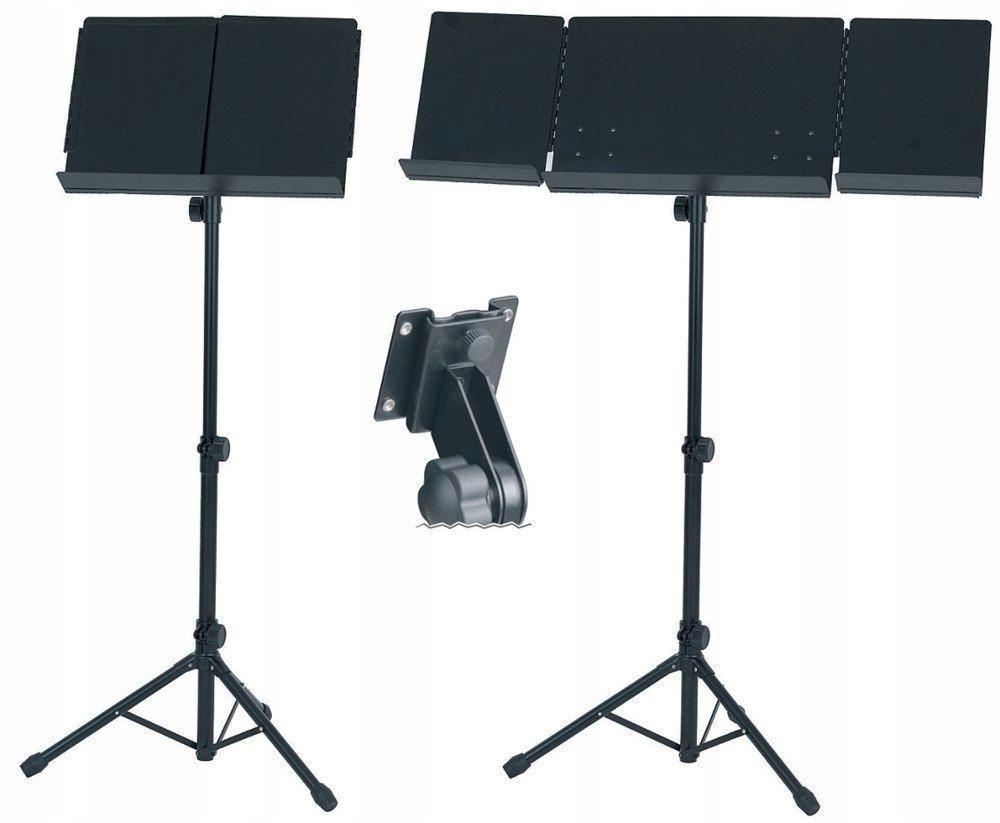 Оркестровый пюпитер раскладной BASIX 67-115cm черный