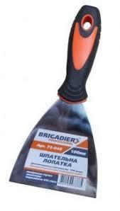 Шпательна лопатка з резиновою ручкою (60 -100 мм)