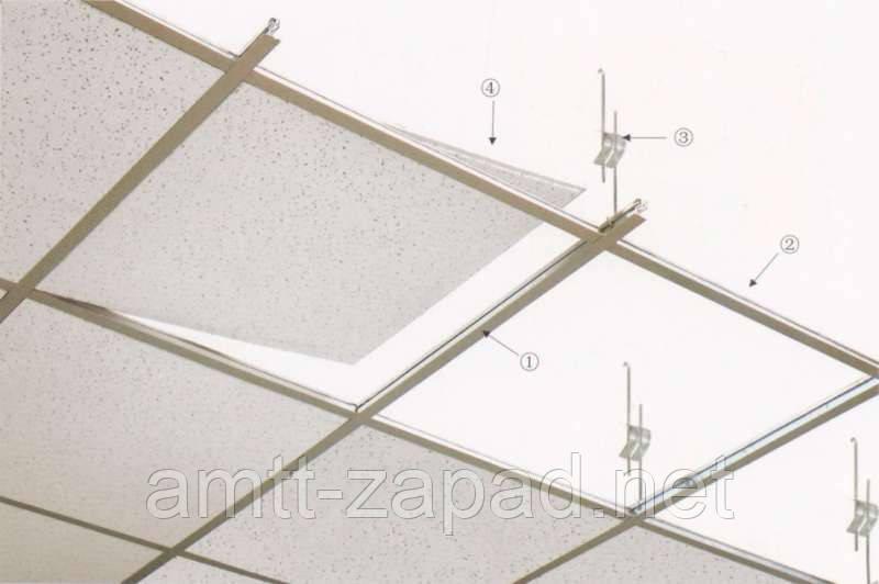 Т профиль для потолка Армстронг Черкассы, фото 1
