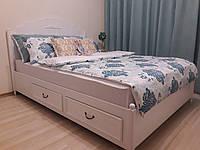 Двуспальная кровать Прованс с выдвижными ящиками, фото 1