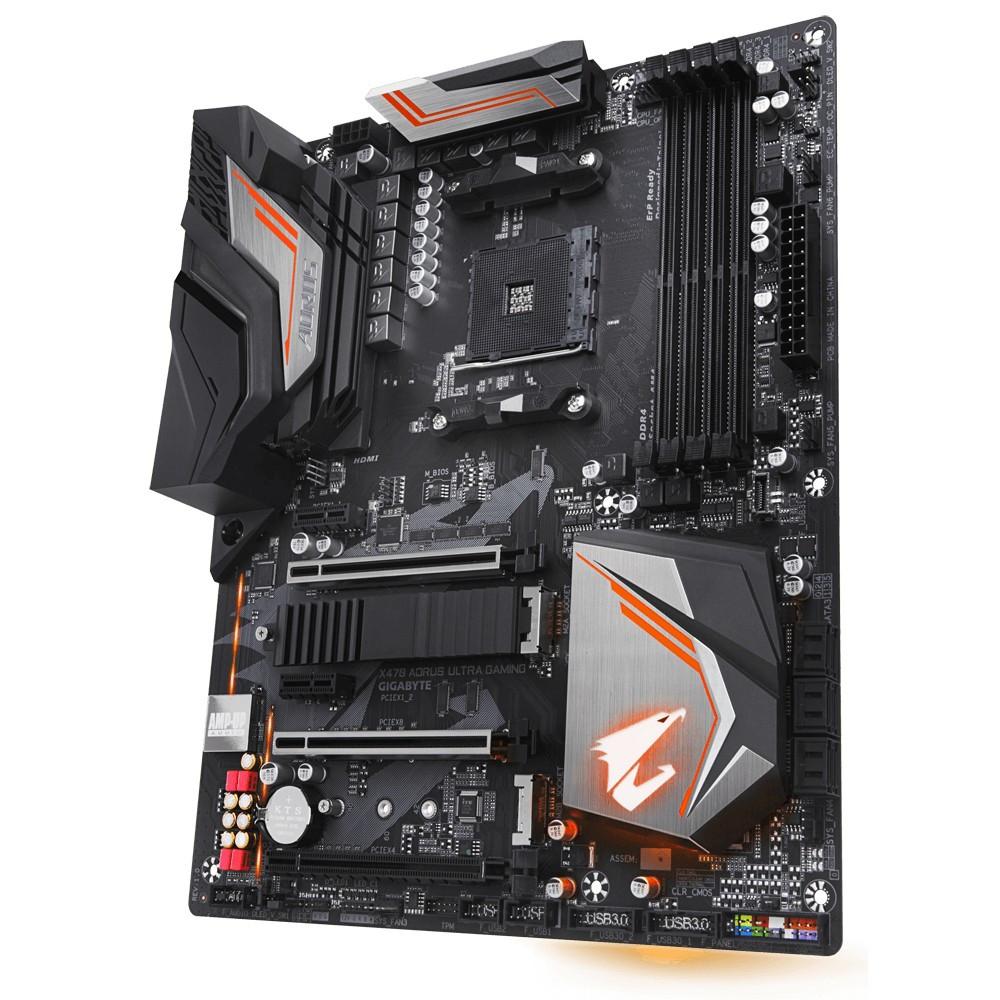 "Материнская плата GIGABYTE X470 AORUS ULTRA GAMING s.AM4 DDR4 ""Over-Stock"" Б/У"