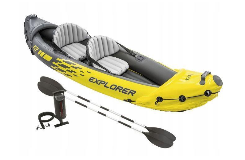 Туристична Intex надувний човен 68307 Explorer K2
