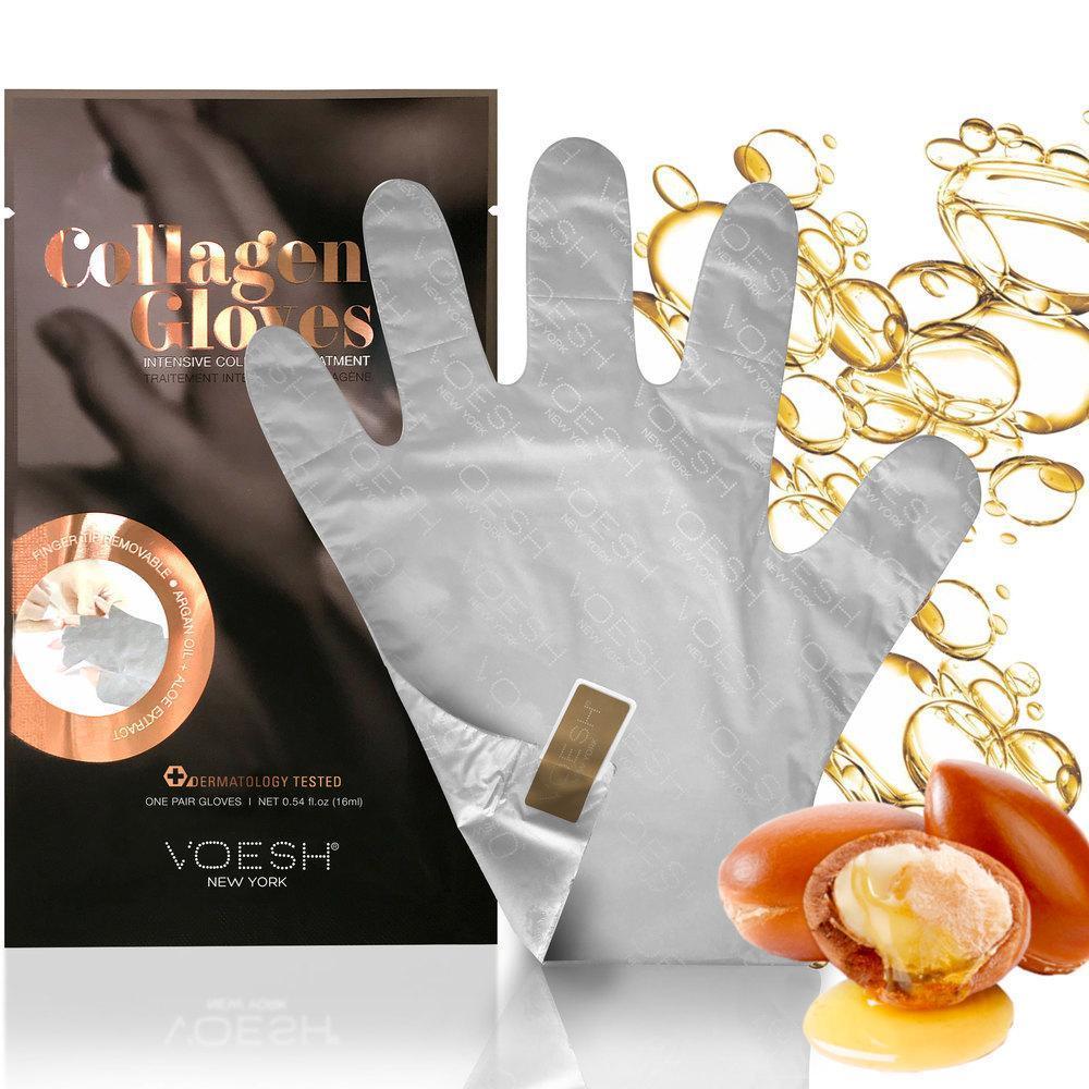 Коллагеновые перчатки VOESH Collagen c аргановым маслом и экстрактом алоэ