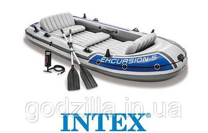 Туристическая надувная лодка INTEX 68325