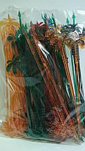 "Мешалка пластиковая для напитков ""Пальма ""24.см(100шт) Юнита (1 пач)"