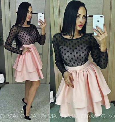 Модные платья с сеткой, фото 2